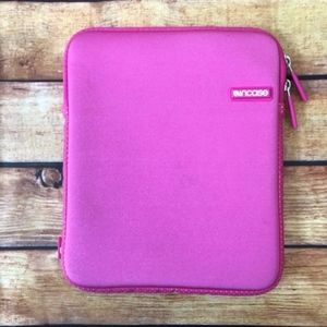 Incase iPad or Tablet Pink Neoprene Sleeve Case